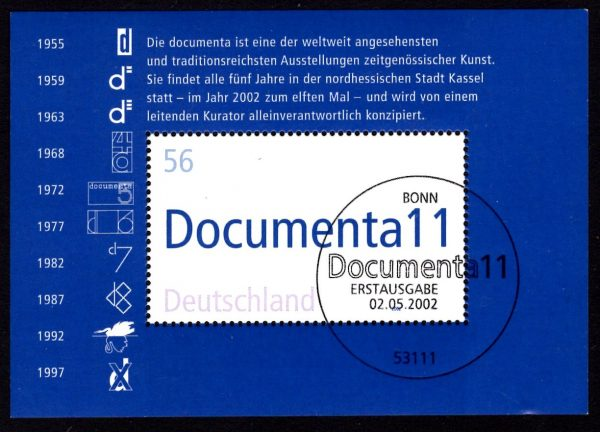Bund Block 058 11 Documenta Kassel