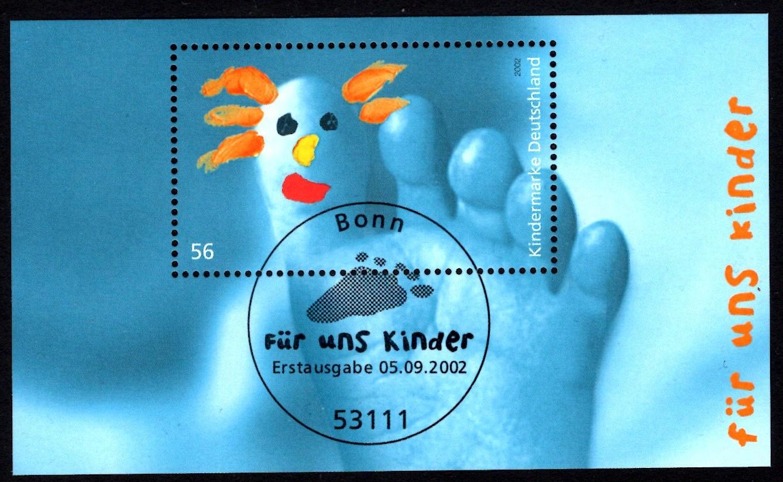 Bund Block 060 Für uns Kinder 2002