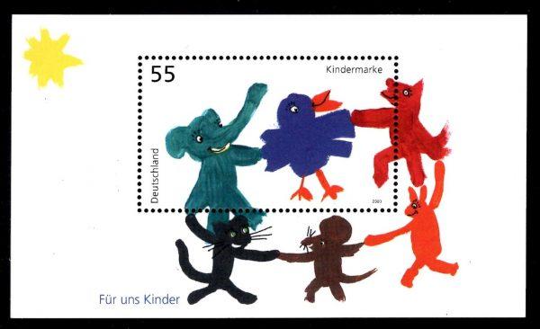 Bund Block 064 Für uns Kinder 2003
