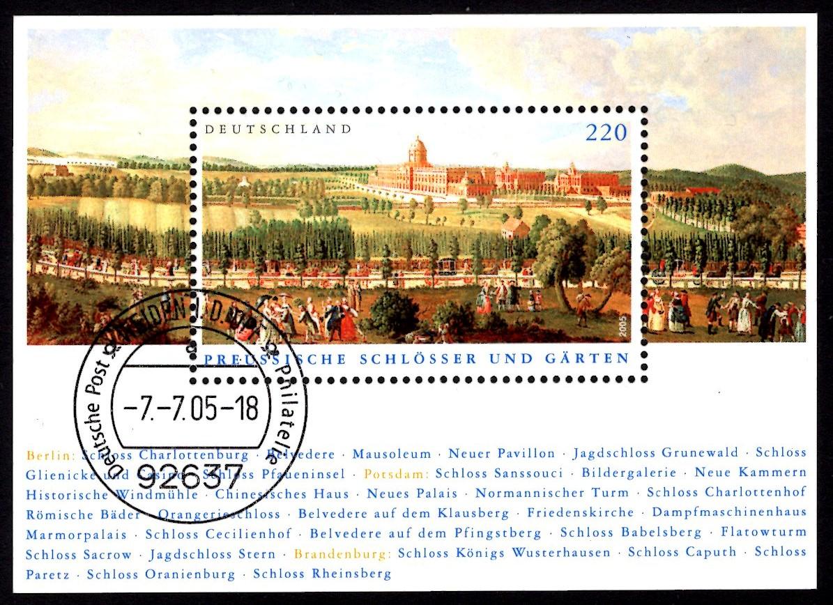 Bund Block 066 Preussische Schlösser
