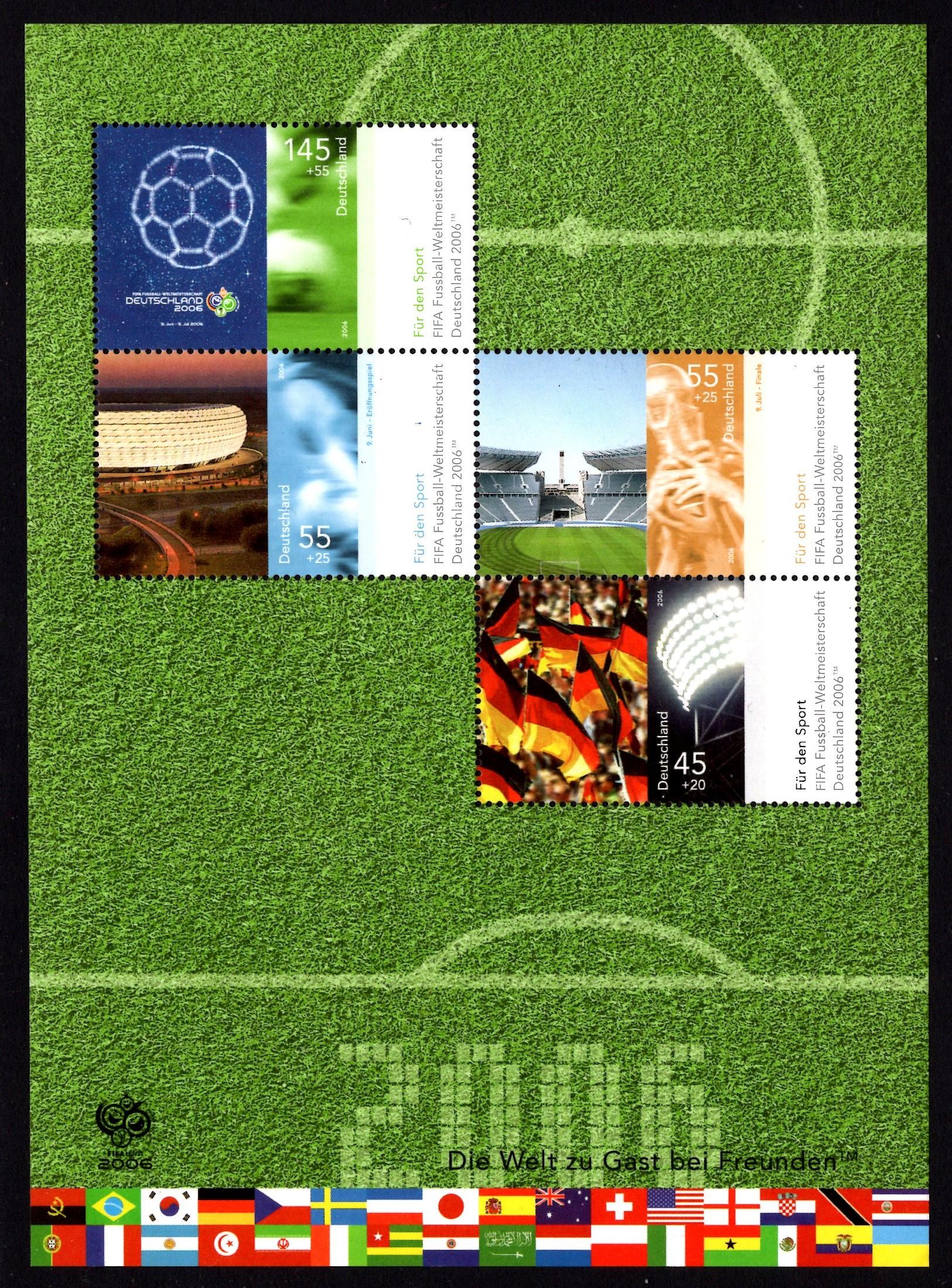 Bund Block 067 Fußballweltmeisterschaft 2006
