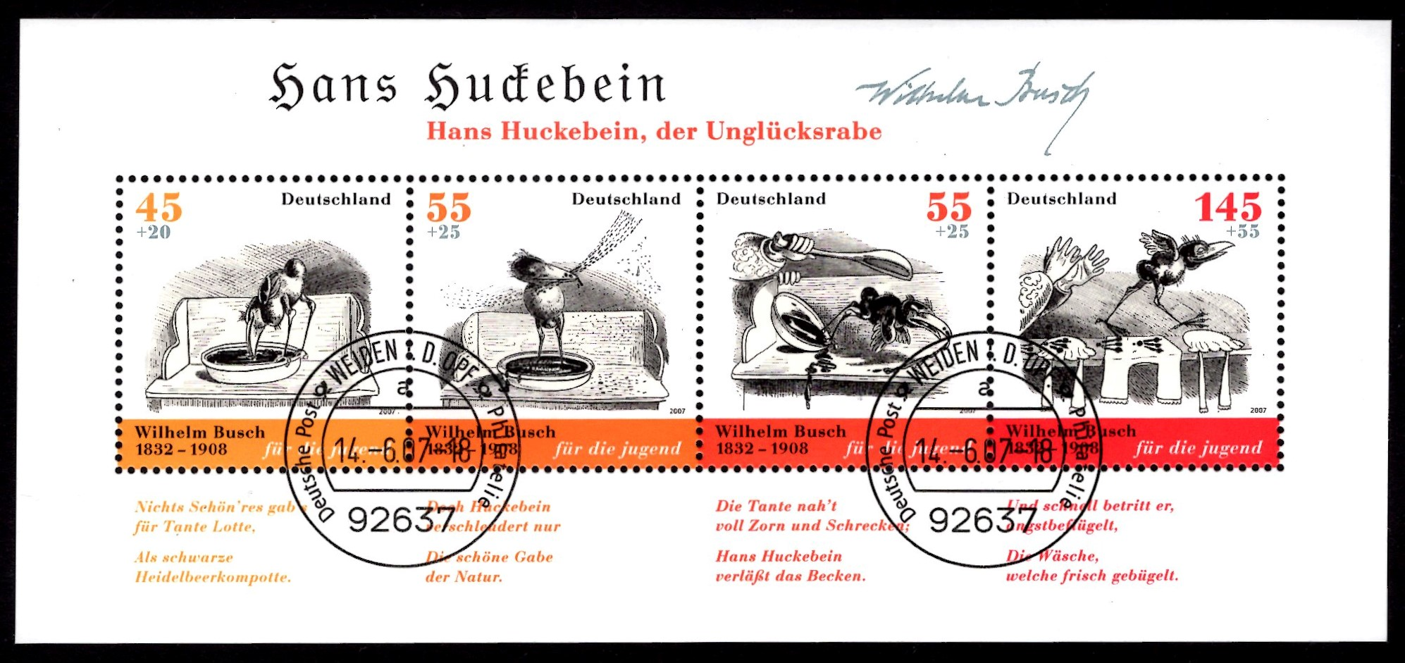 Bund Block 071 Wilhelm Busch