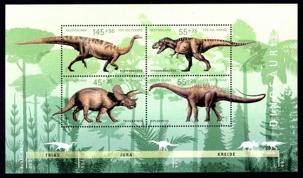 Bund Block 073 Dinosaurier