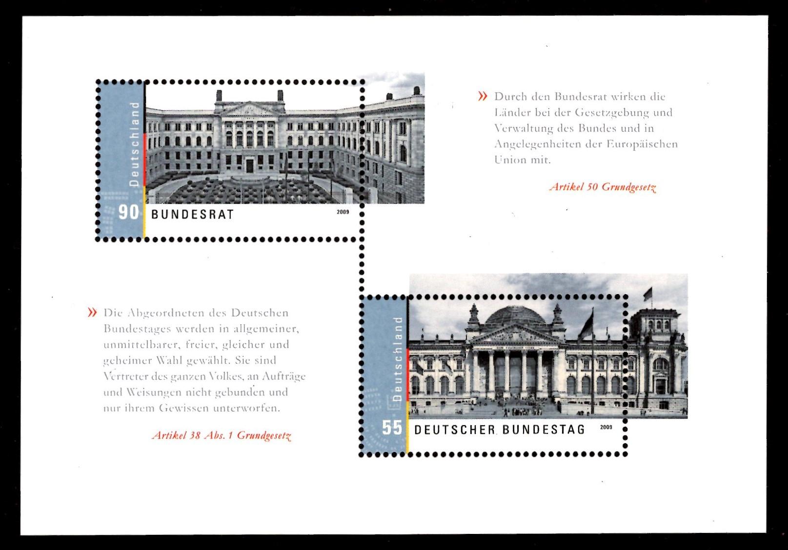 Bund Block 076 Deutscher Bundestag