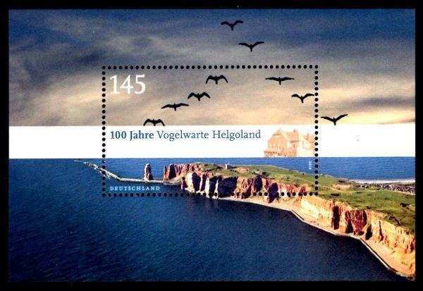 Bund Block 077 100 Jahre Vogelwarte Helgoland
