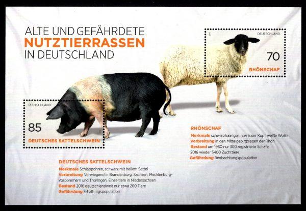 Bund Block 081 Nutztierrassen