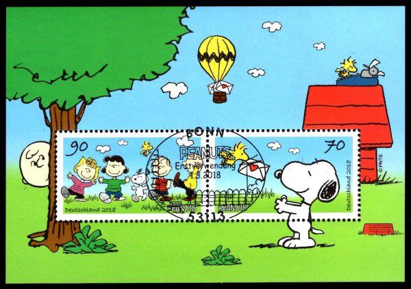Bund Block 082 Die Peanuts