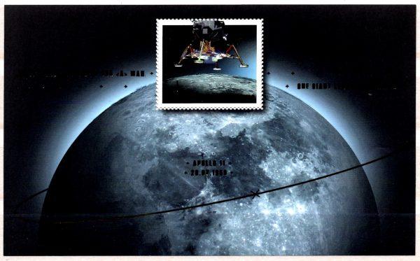 Bund Block 084 50 Jahre Erste Mondlandung