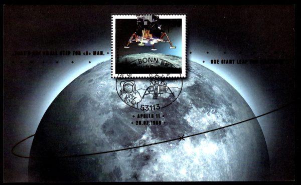 Bund Block 084 50 Jahrestag Mondlandung