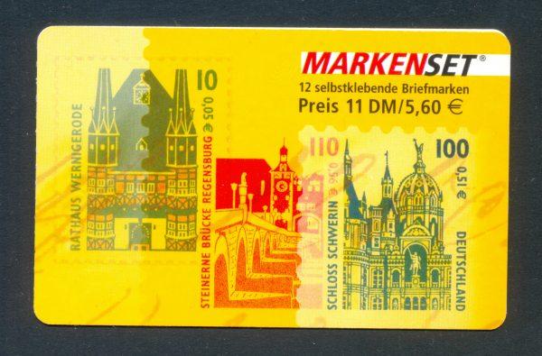 MH 043 Sehenswürdigkeiten 2001 postfrisch
