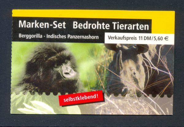 MH 044 Bedrohte Tierarten postfrisch