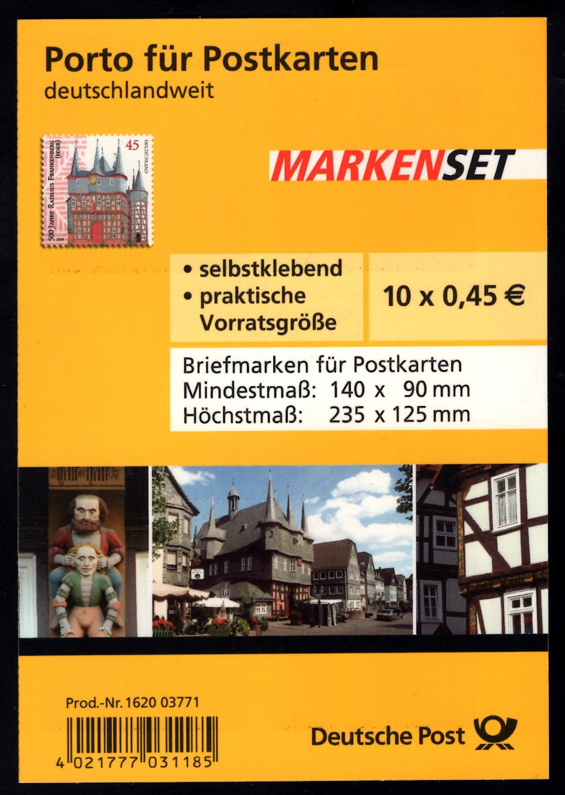 MH 078 500 Jahre Rathaus Frankenberg 2009
