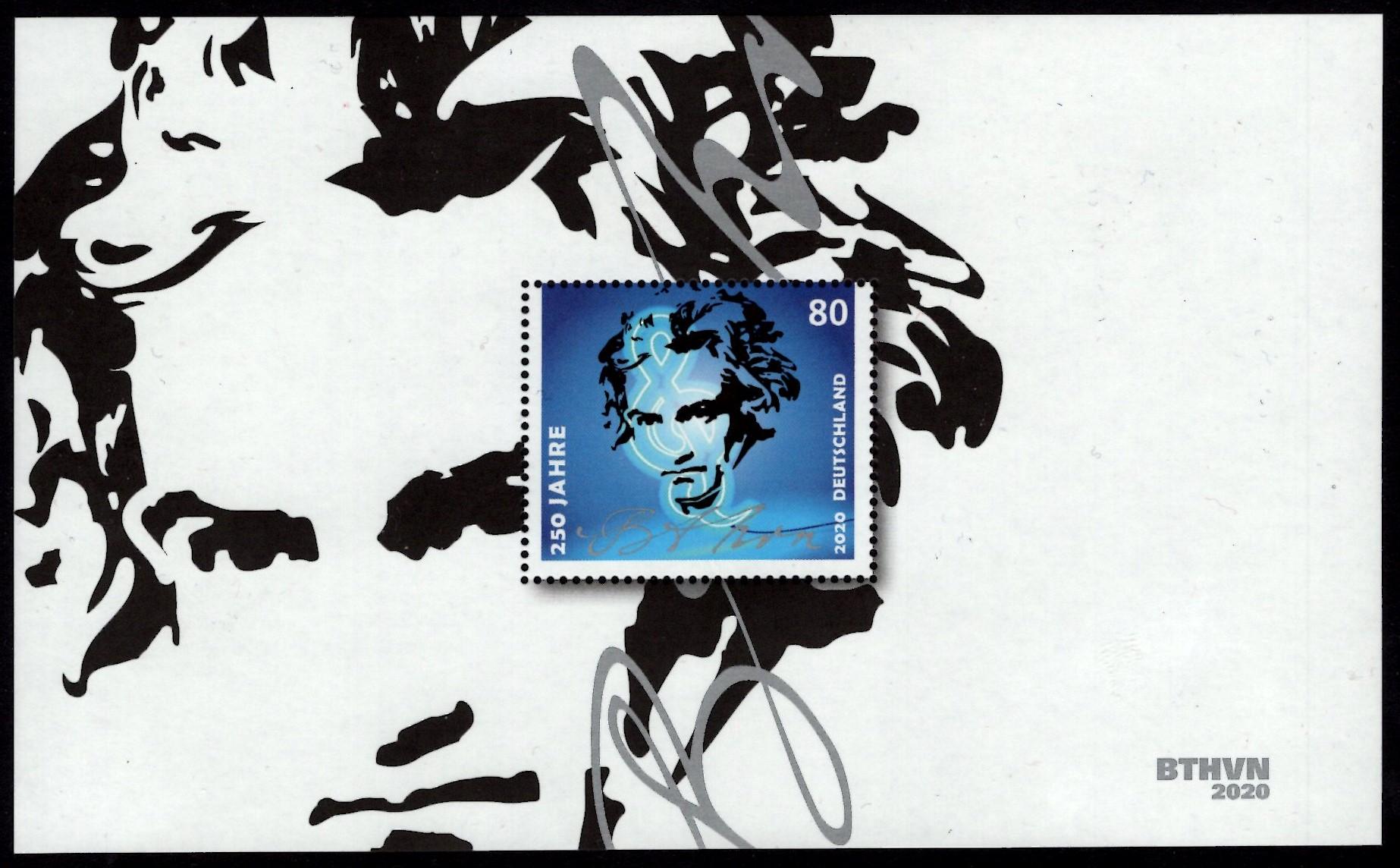Bund - Block 085 - postfrisch - 250.Geburtstag Beethoven
