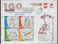 Österreich - Block 036 - postfrisch - I Pfadfinder mit Israelaufdruck