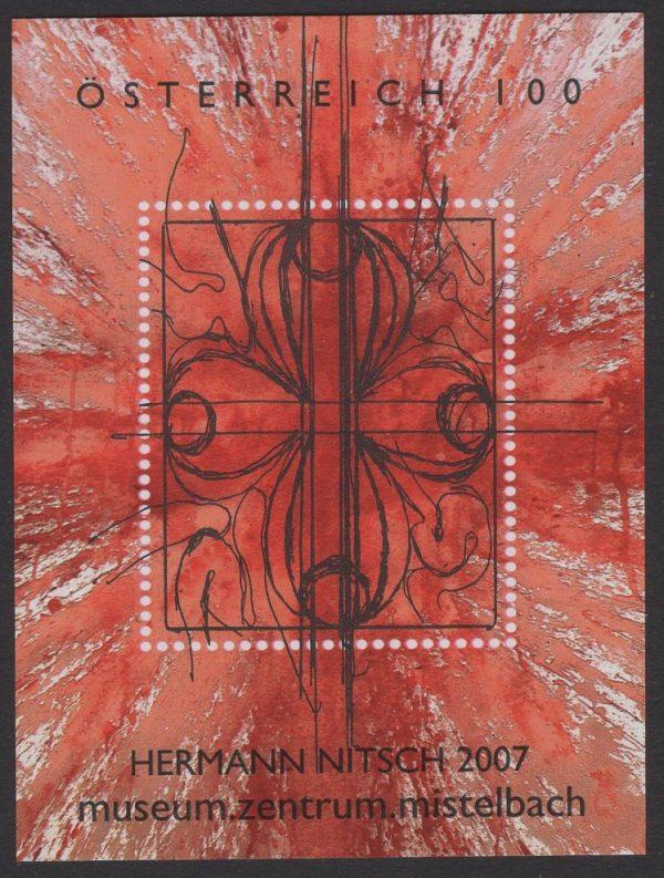 Österreich - Block 037 - postfrisch - Moderne Kunst
