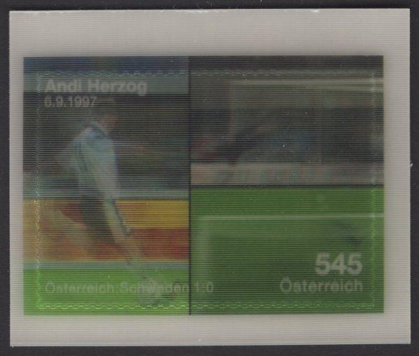 Österreich - Block 042 - postfrisch - Fußball-Europameisterschaft 08
