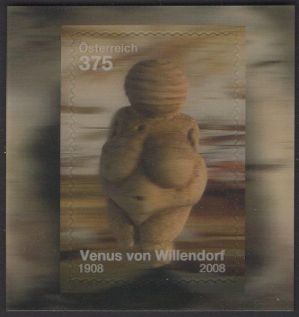 Österreich - Block 044 - postfrisch - Venus von Willendorf
