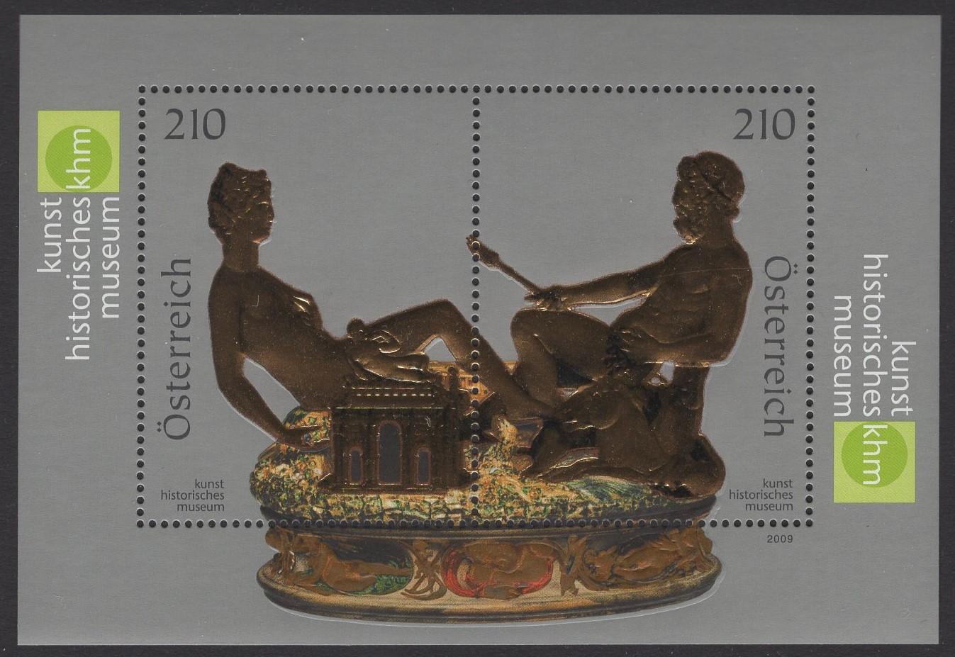Österreich - Block 048 - postfrisch - Saliera Kunstmuseum
