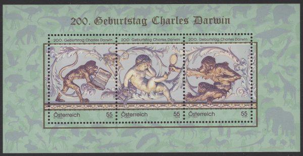 Österreich - Block 057 - postfrisch - Charles Darvin
