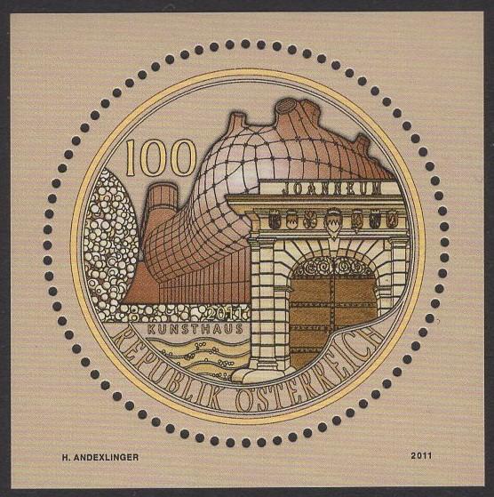 Österreich - Block 063 - postfrisch - 200 Jahre Joanneum Graz