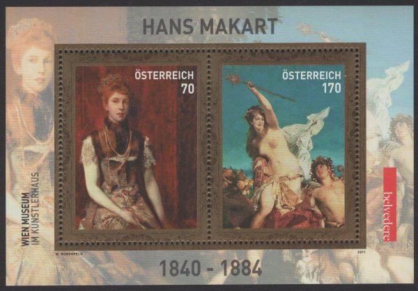 Österreich - Block 064 - postfrisch - Hans Makart