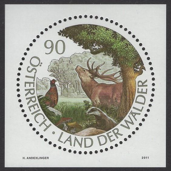 Österreich - Block 065 - postfrisch - Österreich Land der Wälder