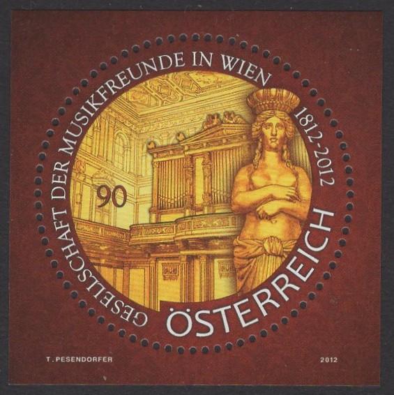 Österreich - Block 068 - postfrisch - Musikfreunde Wien