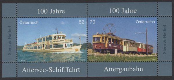 Österreich - Block 074 - postfrisch - 100 Jahre Attersee