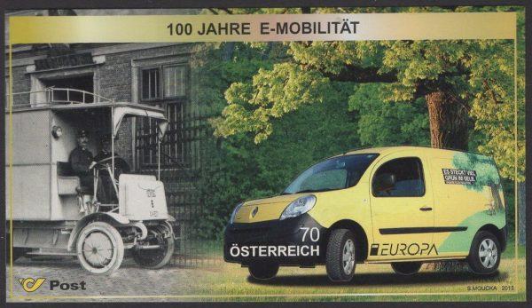 Österreich - Block 075 - postfrisch - Europa Postfahrzeuge