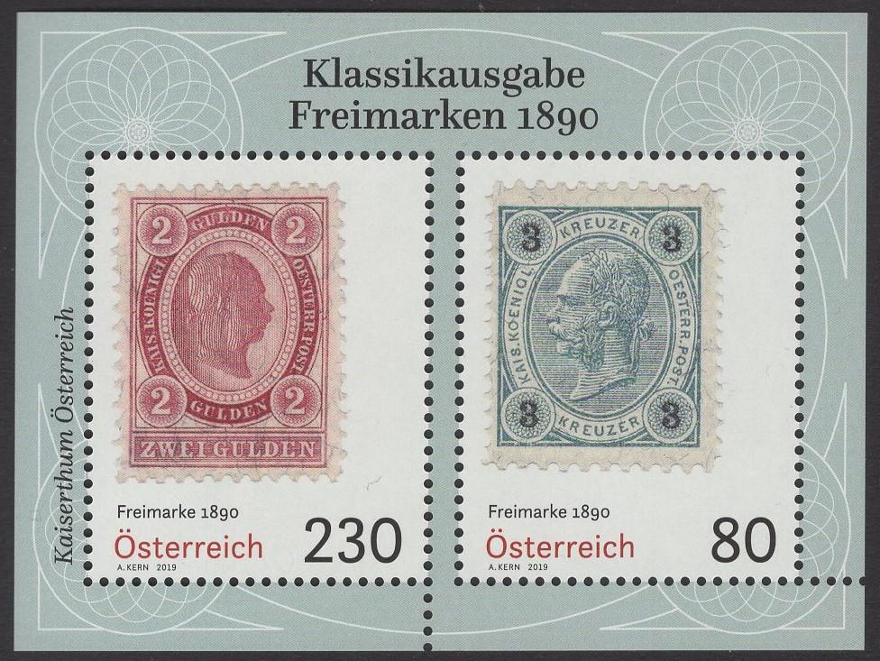 Österreich - Block 109 - postfrisch - Klassische Briefmarken