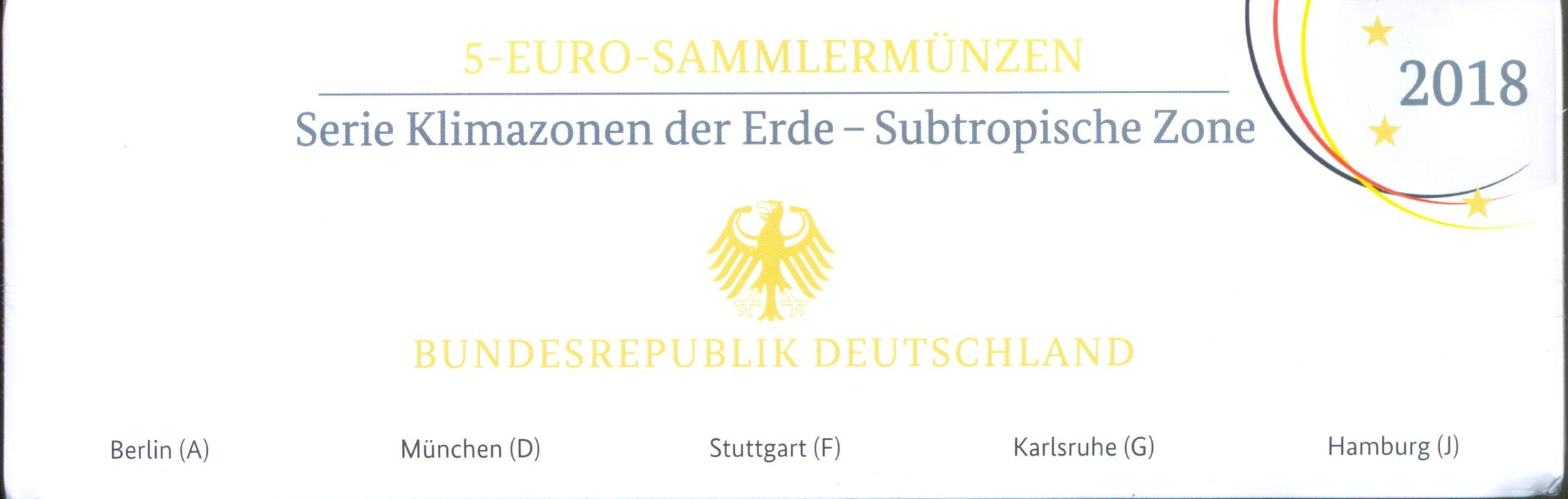 2018/7-5€-Subtropische Zone-polierte Platte
