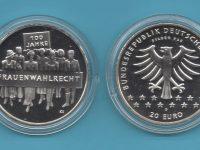 2019-01-20€-925er Silber- Frauenwahlrecht