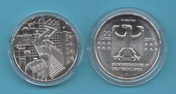 2019-02-20€-925er Silber- 100 Jahre Bauhaus