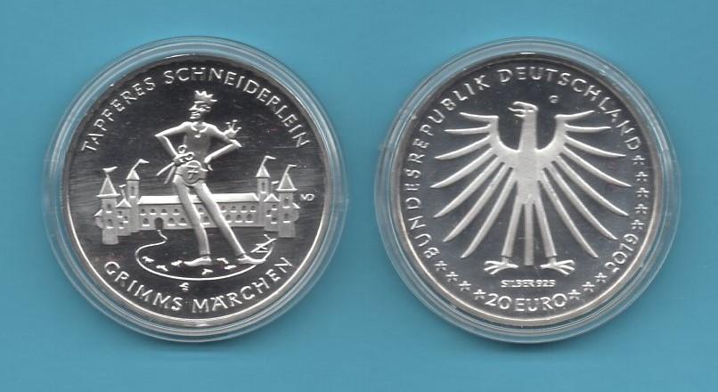 2019-03-20€-925er Silber- Grimms Märchen