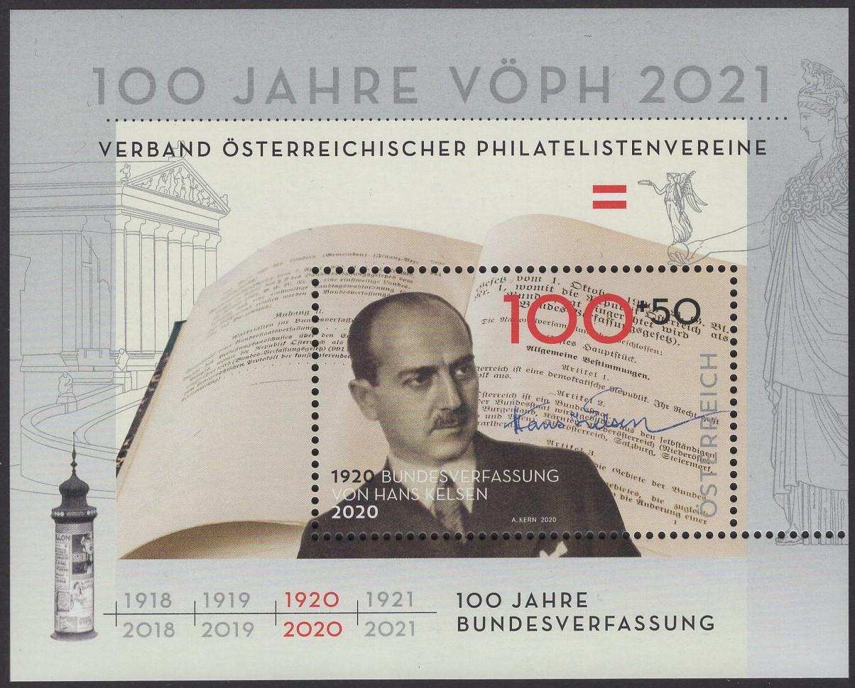 Österreich - Block 118 - postfrisch - Österreichische Philatelistenvereine