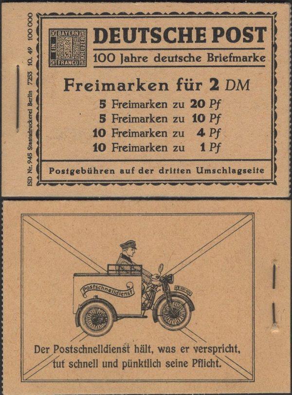 Berlin MH 01 Berliner Bauten 1949