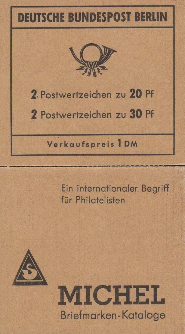 MH 07 a Brandenburger Tor 3.Deckelseite Mauritius 1970