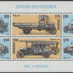 Schweden - postfrisch - Block 08 - Schwedischer Automobilbau 1980