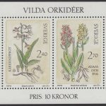 Schweden - postfrisch - Block 10 - Wilde Orchideen 1982