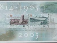 Schweden - postfrisch - Block 19 - 100 Jahre Auflösung 2005