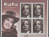 Schweden - postfrisch - Block 20 - Greta Garbo 2005