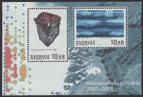 Schweden - postfrisch - Block 23 - Internationales Polarjahr 2007