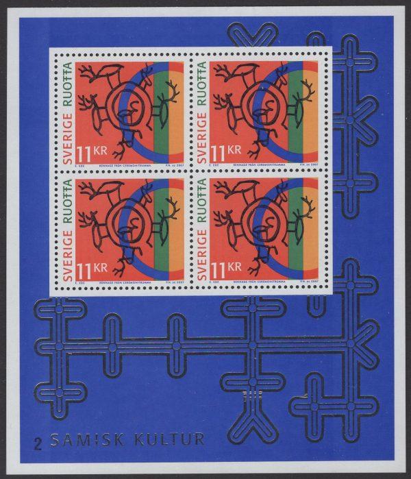 Schweden - postfrisch - Block 25 - Samische Volkskunst 2007