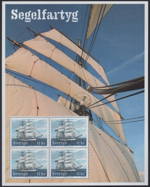 Schweden - postfrisch - Block 29 - Segelschiffe 2008
