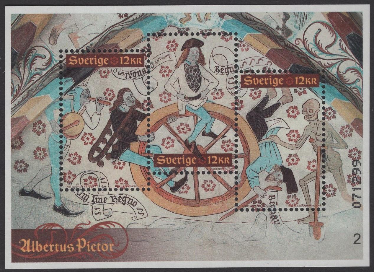 Schweden - postfrisch - Block 31 - Albertus Pictor