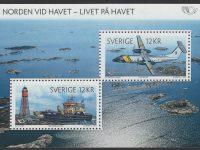 Schweden - postfrisch - Block 39 - Norden Leben am Meer