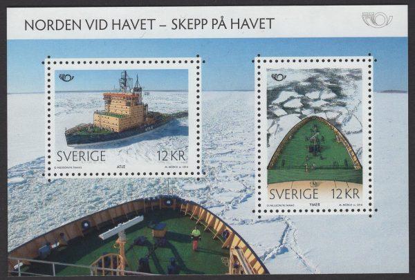 Schweden - postfrisch - Block 48 - Norden-Leben am Meer