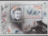 Schweden - postfrisch - Block 50 - 150 Geburtstag Alice Tegner 2014