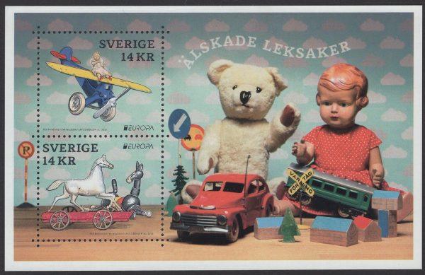 Schweden - postfrisch - Block 51 - Europa Spielzeug 2015