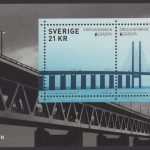 Schweden - postfrisch - Block 57 - Europa Brücken 2018